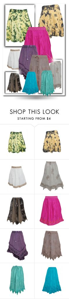 BOHO Stylish Skirts by moguldesigns on Polyvore featuring skirts and bohoskirts