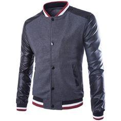 Intelligent Men Coats Winter Fashion 2017 Patchwork Mens Padded Coat Baseball Jacket Slim Fit Warm Wadded Sportswear Overcoat Man S-3xl T287 Large Assortment Men's Clothing