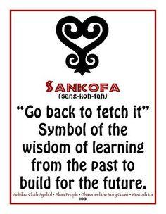 Sankofa Symbol; Adinkra, Africa   Africa; Adinkra, Kenya ...