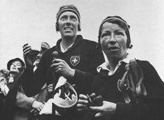 Como miembro del equipo suizo de esquí, Ella Maillart defendió a su país en los cuatro primeros campeonatos del mundo de esquí alpino de 1931 a 1934.