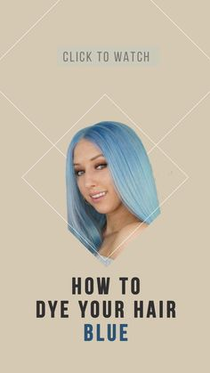 Hi Lovlies, in today's video I will be showing you have to dye your hair this denim blue/ pastel blue hair colour that has been kind of trendy on Instagram lately inspired by Kylie Jenner's blue hair she did earlier this year. Pastel Blue Hair, Hair Color Blue, Human Hair Lace Wigs, Remy Human Hair, Kylie Jenner Blue Hair, Hair Extension Shop, Types Of Hair Extensions, Hair Hacks, Hair Tips