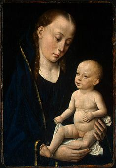 Dirck Bouts  Madonna and Child, c. 1465