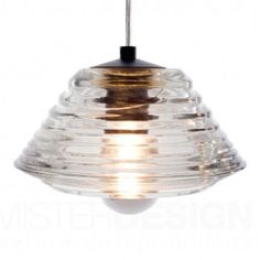 Channel retro-industrial style with the Replica Tom Dixon Pressed Glass Bowl Pendant Light from Lucretia Lighting. Lamp Light, Pendant Lamp, Pendant Light Design, Mini Pendant Lights, Glass Pendant Light, Bowl Pendant, Vintage Pendant Lighting, Ceiling Lights, Light Fittings