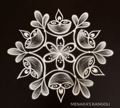 Easy And Beautiful Rangoli Design For New Year 2020 Simple Rangoli Border Designs, Easy Rangoli Designs Diwali, Rangoli Simple, Indian Rangoli Designs, Rangoli Designs Latest, Rangoli Designs Flower, Free Hand Rangoli Design, Small Rangoli Design, Rangoli Designs With Dots