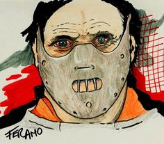 #Hannibal Lecter #Made in Fer Amo
