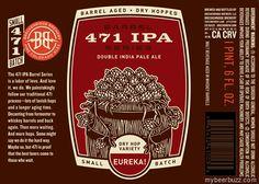 mybeerbuzz.com - Bringing Good Beers & Good People Together...: Breckenridge 471 IPA Barrel Series - Eureka!