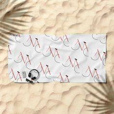 Bicycle Beach Towel #society6 #decor #buyart by #nileshkikuuchise