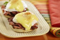 New year, new habits - but everyone wants to indulge now and then. This Canadiana eggs benny has all the rich Ontario flavours to make your next brunch your best brunch.