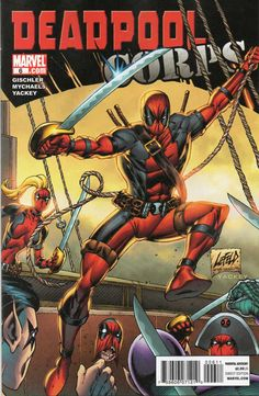Deadpool Corps #6 - The Blue Buccaneer! (Issue)
