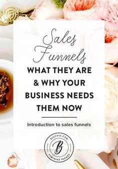 Learn all about what sales funnels are and why your business needs them from Bluchic - introduction to sales funnels