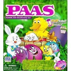 Paas Easter Egg Color Kit by PAAS. $4.49. 9 silly circles. 8 egg ...