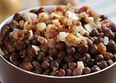 This is a traditional Latvian dish, you won't find it anywhere else in the world, so you should give it a try. Latvian Black peas with a bit of pork meat. Sounds simple, but tastes more like something you get from a 5 star restaurant.