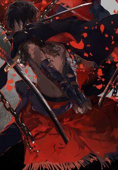 anime boy, touken ranbu, and ookurikara imageの画像 Dark Anime Guys, Hot Anime Boy, Cute Anime Guys, Anime Boys, Touken Ranbu, Anime Style, Yumekui Merry, Mega Anime, Bakugou Manga