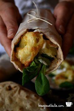 Ricetta Fish Wrap Mediterraneo Con Calamari/Baked Squid Rings Taco Recipe