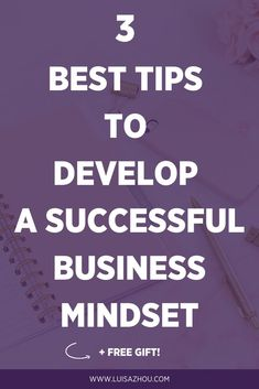 Wondering how to work on your business mindset? Business mindset in entrepreneurship is SO important for building a profitable business. But it's not always easy to keep up your mindset in business. Read my 3 best tips here. Entrepreneur Motivation, Business Motivation, Entrepreneur Quotes, Business Entrepreneur, Business Quotes, Business Tips, Online Business, Women In Business, Business Sales