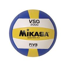 Mikasa VSO2000 FIVB Replica Volleyball - http://www.closeoutball.com/volleyball/mikasa-vso2000-fivb-replica-volleyball/