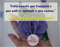 Gil Monteiro Artesanatos - RJ: Feliz dia dos Professores