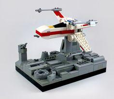 Micro LEGO X-Wing