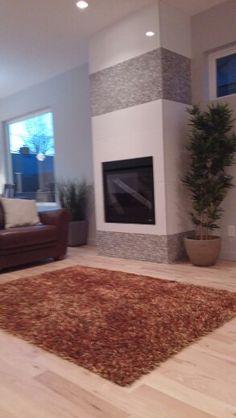 Tile Fire Place