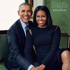 """""""President Barack Obama and First Lady Michelle Obama looking so GORGEOUS in People Magazine. 8 years of flawlessness! Michelle E Barack Obama, Barack Obama Family, Michelle Obama Fashion, Obamas Family, Obama President, Joe Biden, Presidente Obama, Malia And Sasha, Barrack Obama"""