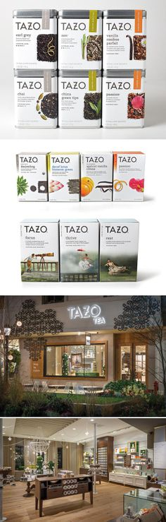 """The """"Tazo Rebrand,"""" created by Starbucks Global Creative Studio, won an Outstanding Achievement award in HOW's In-house Design Awards 2013. Find out how you can enter for 2014 here: http://www.howdesign.com/design-competitions/in-house-design-awards/"""
