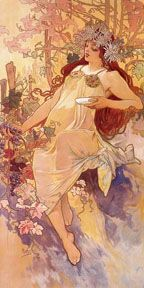 Alfons Mucha's Hours and Seasons