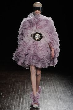 Reminds me of a slice of purple Agate...Alexander McQueen AW12