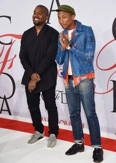 Kanye-West-Pharrell-Williams-CFDA-Fashion-Awards-2015-Style-Picture