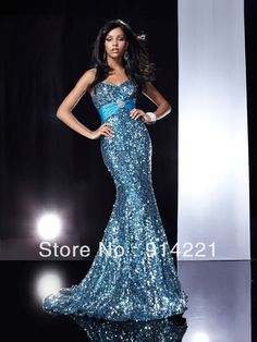 blue+mermaid+prom+dresses | ... Blue-Mermaid-Trumpet-Sweetheart-Sequins-Prom-Gowns-Evening-Dresses