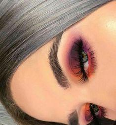 38 Tipps leicht Augen Make-up für Frauen 2019 Eye Makeup eye makeup using spoon Makeup Eye Looks, Eye Makeup Tips, Cute Makeup, Skin Makeup, Makeup Inspo, Eyeshadow Makeup, Makeup Inspiration, Makeup Ideas, Pink Eyeshadow