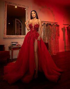 Prom Girl Dresses, Glam Dresses, Event Dresses, Fashion Dresses, Formal Dresses, Red Evening Dresses, Matric Dance Dresses, Quince Dresses, Long Dresses