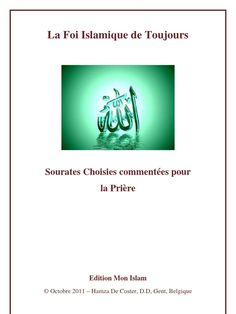 Sourates choisies pour la Prière - Free download as PDF File (.pdf), Text File (.txt) or read online for free.