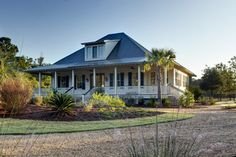 Baypoint Cottage at Brays Island - traditional - exterior - charleston - Allison Ramsey Architects