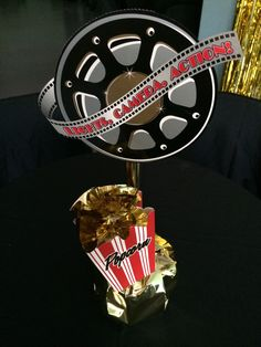 Event Design by Nu Epps at Esyntial Elements Consulting Inc. Hollywood celebrity party centerpieces.