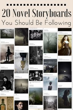 Beautiful and inspiring boards by other writers. Add yours in the comments! (Because we all need more distractions, right? ;-)
