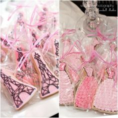 Glamour girl in Paris party cookies by maryann