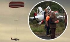 Don't worry, the PLANE has a parachute! Aircraft passengers miraculously survive engine failure after pilot deploys unique safety device. Why did it take so long for someone to make this?