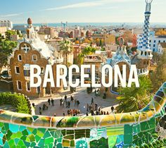Barcelona Travel Places to Visit A Visit in Barcelona Spain Barcelona travel places to visit. I have wanted to visit Barcelona, Spain for the longest time. Antonio Gaudi, Places To Travel, Places To Visit, Madrid, Parc Guell, Places In Spain, Valence, Barcelona Travel, Gaudi Barcelona