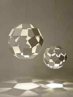 Dancing Squares Pendant Light by Nendo  #Lighting #Nendo