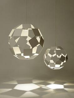 Dancing Squares Pendant Light by Nendo  #Lighting #Nendo