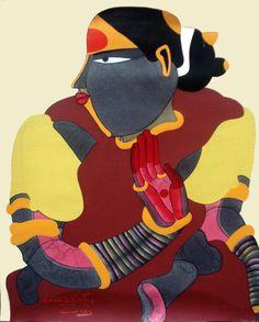 thota vaikuntam telangana woman http://indiearts.in/product-category/artist/thota-vaikuntam/
