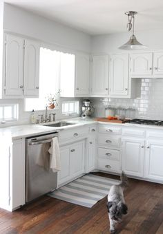 We did it! Our Kitchen Remodel | http://julieblanner.com/our-kitchen-remodel/