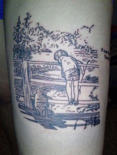 Pooh ink..........ummm winnie the pooh, get yer mind out of the gutter