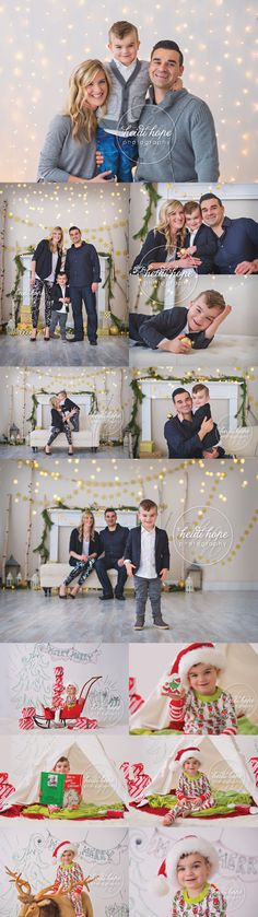 The F Family's 2016 Holiday Portraits! | Heidi Hope Photography
