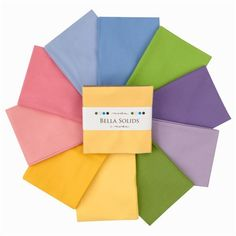 Moda Bella Solids 5'' Charm Pack 30's Colors By The Each