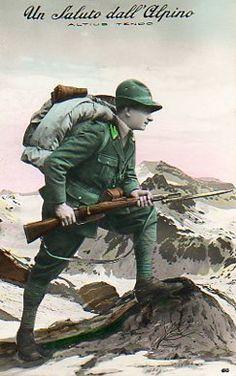 Italian alpini,WWI