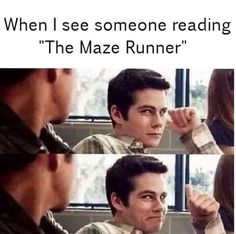 Rank in random. Ever in a need of a laugh or just want to hear some plain funny Harry Potter memes and jokes? Then you have come to the right place. Maze Runner Thomas, Maze Runner Funny, Maze Runner Cast, Maze Runner Quotes, Maze Runner Trilogy, Maze Runner Series, Teen Wolf Memes, Hush Hush, Video Hilarante