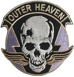 Can be Ironed on but we suggest at least one round of stitching around the patch. - High Quality Embroidered Patch - Iron / Sew on - Great for Jackets, Vests, Hats, Bags and Costumes - Made Tough a Raven Logo, First Round, Metal Gear Solid, Gears, Squad, Patches, Heaven, Embroidered Patch, Sewing