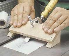 Chisel Sharpening Guide
