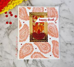 HAPPY DIWALI - Me And My Daily Papercraft Blog - Handmade Card by PriCreated